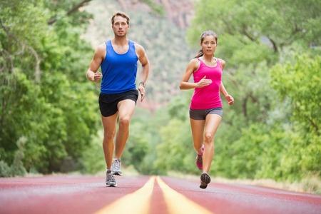 Couple Training for a Marathon