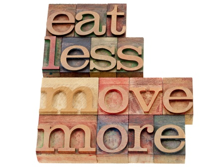 Typeset of Eat Less Move More